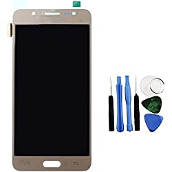 BisLinks® pour Samsung Galaxy J5 2016 LCD Display Touch Écran Digitizer Or J510 + Tools Remplacement Partie
