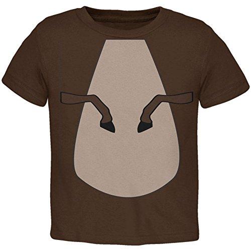 üm Braun Pony Kleinkind T Shirt Braun 3 t (Kleinkind-halloween-kostüm Pferd)