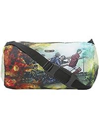 BagsRUs Sporty Multi-Color 13 Liter Duffel Gym Tote Travel Hand Bag (DF107FBL)