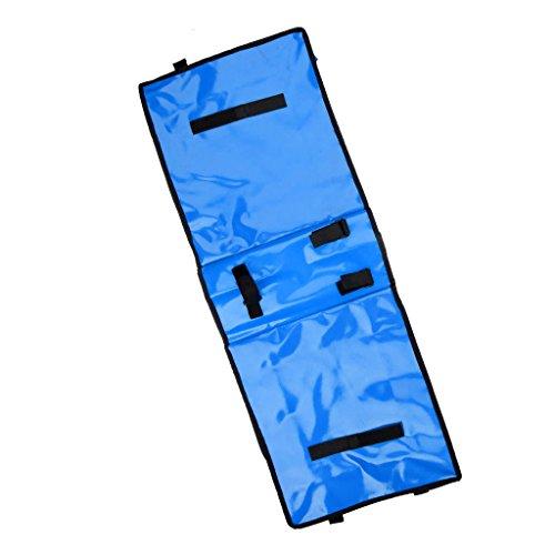 Wasserdichte Fahrrad Doppel Seite Satteltasche Pannier, Hochwertig, Praktisch und Hohe Qualität Blau