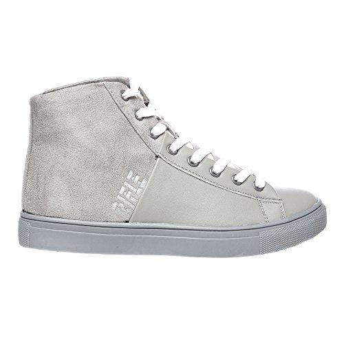 RIFLE Chaussures Femme, Haute Avec Lacets. mod. 162-W-303-338 Gris clair - Gris