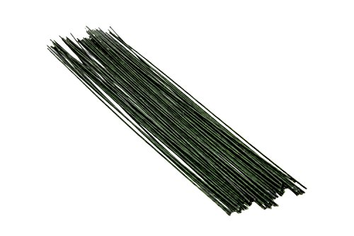 Flower Making Hard Wire Green Tape Coated 12