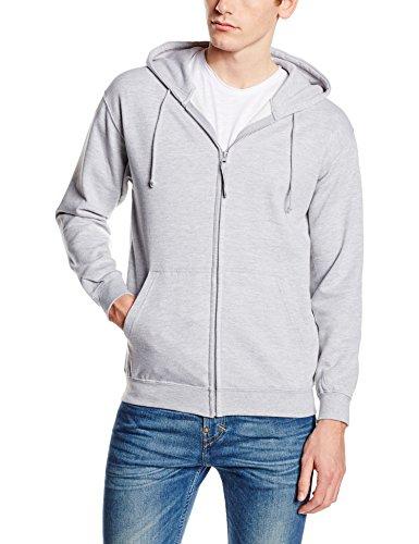 Awdis Zoodie, Sweat-Shirt àCapuche Homme Grey (Heather)
