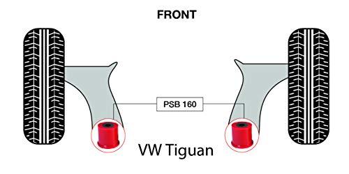 PSB Push Tiguan (07-14) Kit de bagues avant Wishbone arrière - PSB160