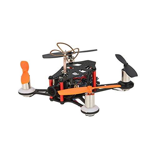 Goolsky JJPRO-T1 Mini Drone de Carrerara 95mm FPV BNF Racing Quadcopter con Cámara 800tvl Basado en Naza 32 Control de Vuelo