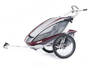 Thule Cx2 Remorque de vélo Bordeaux