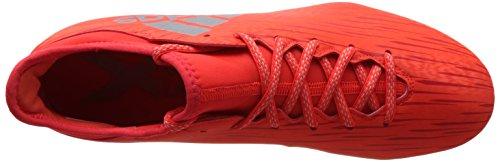 adidas X 16.3 Fg, Scarpe da Calcio Uomo Multicolore (Solred/Silvmt/Hirere)