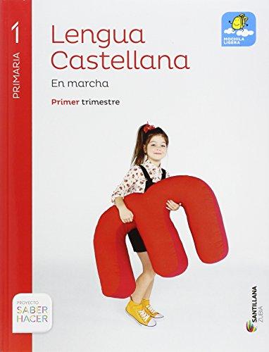 LENGUA CASTELLANA EN MARCHA 1 PRI SABER HACER - 9788491080190