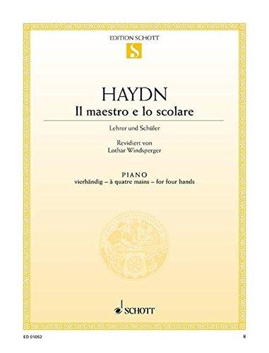 Il Maestro E Lo Scolare Piano