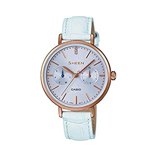Casio Sheen Analog Blue Dial Women's Watch – SX199 (SHE-3054PGL-2AUDR)