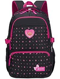 Zaini per bambini con stampa a stella per ragazze adolescenti Zaini per  bambini leggeri con zaini 06434c95159