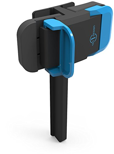 Ten One Design Mountie Side-Mount Clip für Apple iPhone/iPad blau