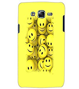 SAMSUNG GALAXY J5 SMILEYS Back Cover by PRINTSWAG