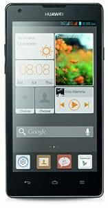 Huawei Ascend G700 Smartphone (12,7 cm (5 Zoll) Touchscreen, 8 Megapixel Kamera, 8 GB Interner Speicher, Android 4.2) schwarz