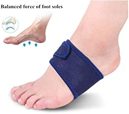 Skudgear 2 Pieces Plantar Fasciitis Arch Heel Aid Feet Cushion Sleeve Pad Arch Support Orthopedic Insoles Heel Pain Relief Shock Orthotic