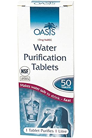 Oasis 8.5mg Tablets Pack of 50 survival tabs