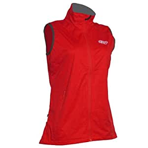 2117 OF SWEDEN SAXNÄS VEST Damen Softshell Weste Funktionsweste, Outdoorweste 7943905 (Rot (red), 42)