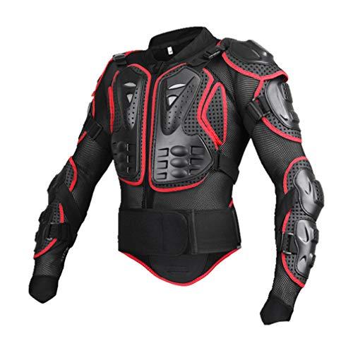 Road&Cool Schutzausrüstung Auswirkungen Westen Brust Motorrad Bruchsichere Kleidung Sportrüstung Outdoor-Ausrüstung (S-3XL) -