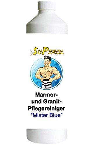 Superol - 1 Liter Premium Marmor und Granit-Pflegereiniger / Hochkonzentrat / Pflegender Reiniger mit angenhemen Frischeduft / Reinigt , Pflegt und Schützt in einem Arbeitsgang