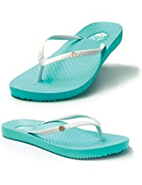"""b081764a91c5 FootActive """"Tiki Girl"""" Orthotic Flip-Flops - Great-Looking Flip-Flops with  Amazing Cushioning and Biomechanical Arch to…"""