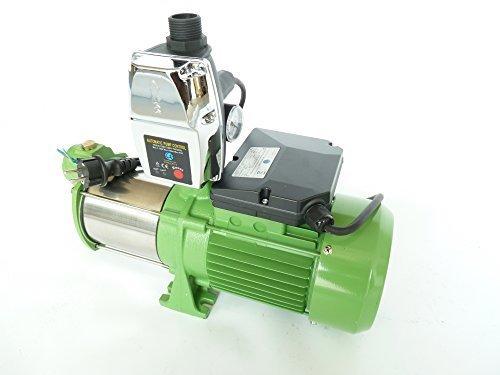 Gartenpumpe MH2200 mit intelligenter Steuerung EPC-4 zur automatisierten Wasserversorgung. Leistung Pumpe 2200Watt INOX 10800 L/h, Spannung 230V/50Hz 5,5bar Schaufelräder und Welle aus robusten rostfreien Edelstahl + integrierter thermischer Motorschutzschalter.