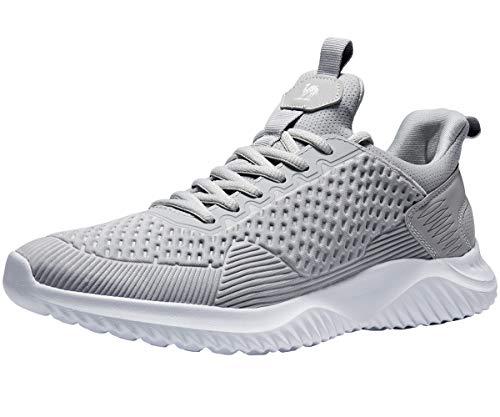 CAMEL CROWN Scarpe da Corsa Uomo Sportive Sneaker Leggero Casuale Moda Allenatore Atletico per Palestra Jogging Fitness Acquista 1 Taglia più Grande