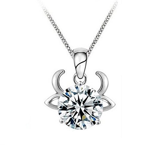 taurus-silver-zodiac-constellation-zircon-crystal-diamond-rhinestone-clavicle-chain-necklace-pendant