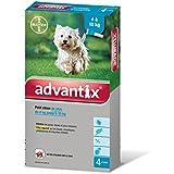 Advantix Petit chien 4 à 10 kg- 4 pipettes antiparasitaires 1 ml