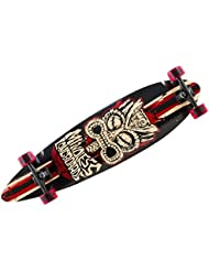 Mindless Tribal Rogue Complete Longboard Pintail Complete Skateboard Complete Black/Red with Koston bearings