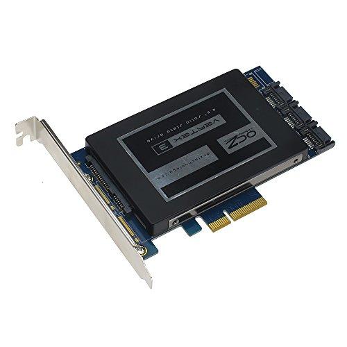 SEDNA - PCIe SSD SATA 6 G 4 port ibrido di HyoperDuo Adattatore RAID con hard disk funzione di accelerazione