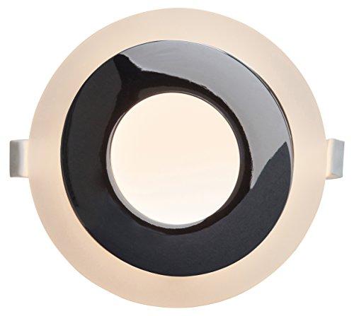 "AEG Orbita Deco LED Einbauleuchten Set: 3 Stück\""Easydim\"" 3 x 500 Lumen Aluminium Integriert, 5 W, weiß 0 x 0 x 3.2 cm, 3 Einheiten"