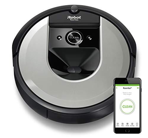 iRobot Roomba i7156 Aspirateur Robot connecté avec Aspiration Surpuissante - brosses en Caoutchouc Multisurfaces - Idéal pour les Poils D'animaux - Apprend, Cartographie et s'adapte à Votre Intérieur