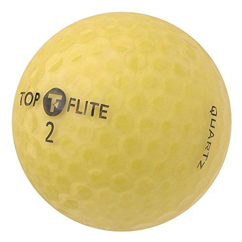 PearlGolf 36 Top Flite Quartz - AAAA-AAA - gelb - Lakeballs - gebrauchte Golfbälle