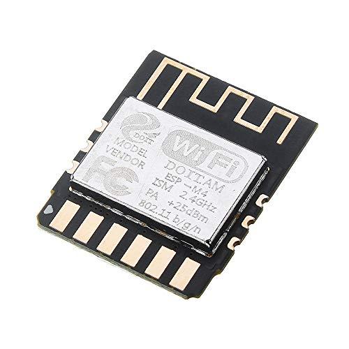 ILS - 3 Stück at Fire ESP-M4 Wireless WiFi-Modul ESP8285 Serial Port Transmission Control Module Kompatibel mit Esp8266 Serial Port Control