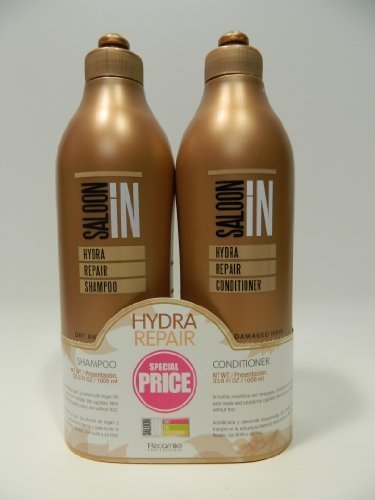 Saloon in Hydra Repair Shampoo & Conditioner 33.8 Oz by SALOON IN