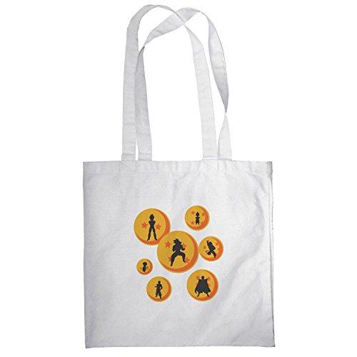 Texlab–The Balls–sacchetto di stoffa Bianco