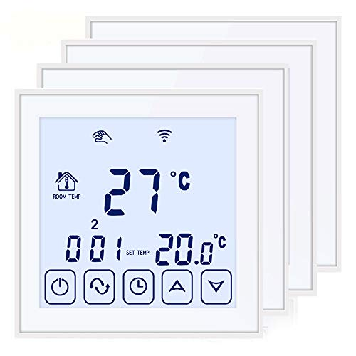 BEOK tds23wifi-ep Raumthermostat Thermostat Digital programmierbar Fußbodenheizung Elektrische Heizung Kabelloser Temperatur Controller -