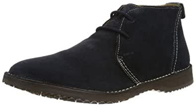 Geox Mens U ZAL C Desert Boots Blue Blau (DK NAVY C4021) Size: 6