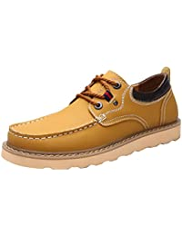 Salabobo - Homme Faible Chaussure, Jaune, Taille 42.5