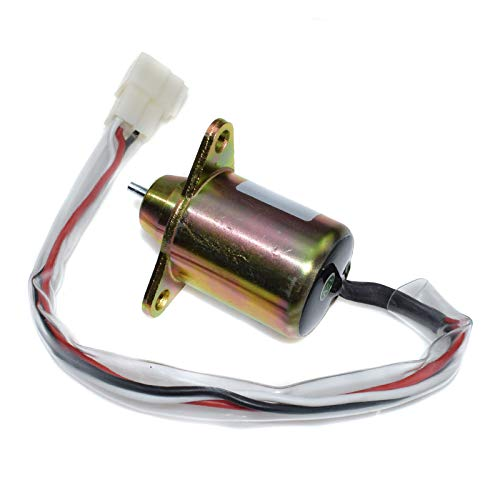 Fuel Shut Off Shutdown Solenoid 119653-77950 NEW For Yanmar KUBOTA F Kubota Starter Wiring Diagram on