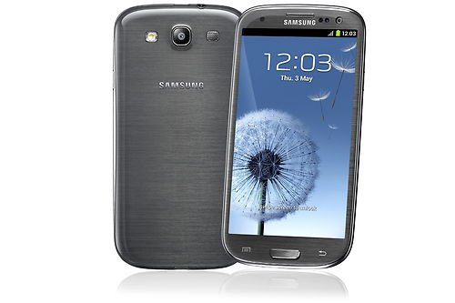 SAMSUNG GALAXY SIII S3 GT-I9300 16 GB TITANIUM GREY