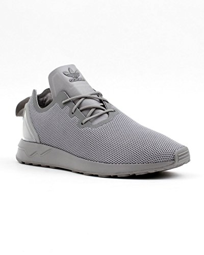 adidas Originals ZX Flux ADV Asymmetrical Hommes Chaussures Gris S79052 grey/grey/spring yellow s16-st / Grau