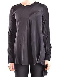 Dondup Femme MCBI100109O Noir Viscose T-Shirt