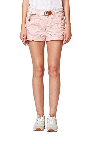 edc by ESPRIT Damen Shorts 038CC1C002, Rosa (Old Pink 680), - Shorts Damen Cargo