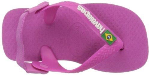 Havaianas Hav. Baby Brasil Logo 4119727, Unisex - Kinder Zehentrenner Rosa