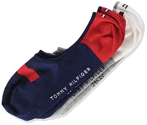 Tommy Hilfiger Jungen TH Kids Hilfiger Footie 2P Füßlinge, Mehrfarbig (Tommy Original 085), 39 (2er Pack) -