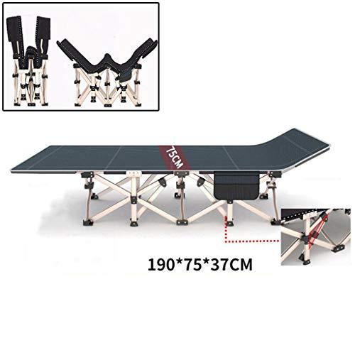ZEDICN Campingbett Feldbett.Tragbares Schlafsofa für schwere Lasten mit Aufbewahrungstasche-J - Schlafsofa-mechanismus