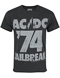 Herren - Amplified Clothing - AC/DC - T-Shirt