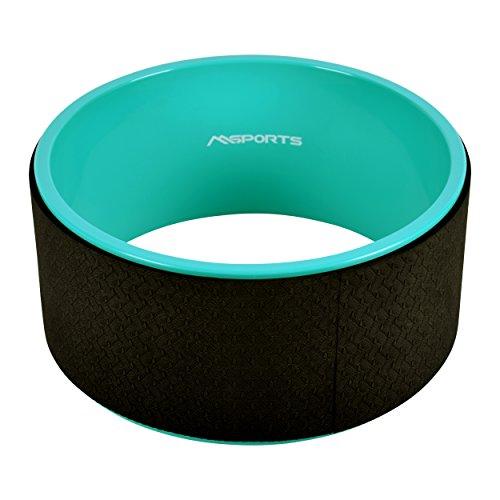 MSPORTS Yoga Wheel – Premium – Hilfsmittel bei Yoga-Übungen | Yoga Rad
