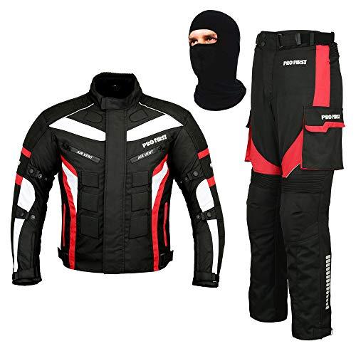Traje de moto para motocicleta y motocicleta, 2 piezas, impermeable, chaqueta +...